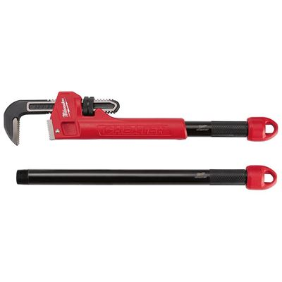 Picture of Milwaukee® Cheater Adaptable Pipe Wrench