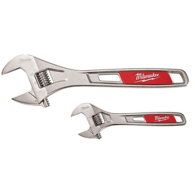 "Picture of Milwaukee® 2 Piece Adjustable Wrench Set (6"" & 10"")"