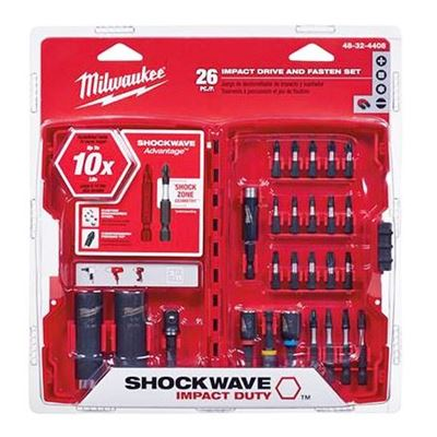 Picture of Milwaukee® 26 Piece SHOCKWAVE™ Impact Driver Bit Set