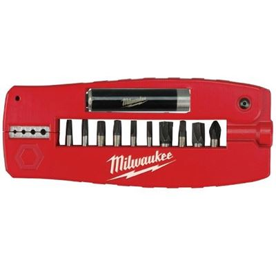 Picture of Milwaukee® 12 Piece SHOCKWAVE™ Impact Driver Bit Set