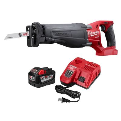 Picture of Milwaukee® M18™ REDLITHIUM™ 9.0AH Battery Starter Kit with M18 FUEL™ SAWZALL® Recip Saw