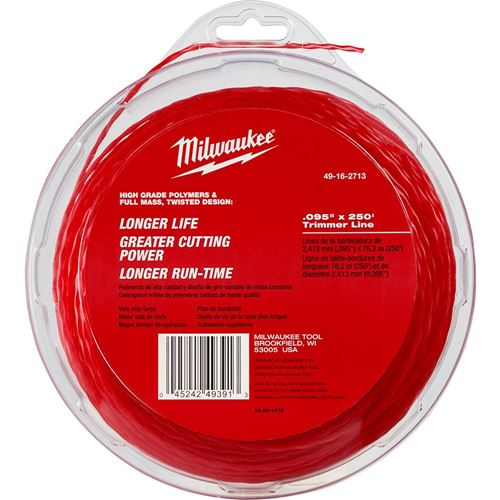"""Picture of Milwaukee® .095"""" x 250' Trimmer Line"""