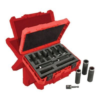 "Picture of Milwaukee® 9 Piece SHOCKWAVE™ 1/2"" Deep Well Socket Set"