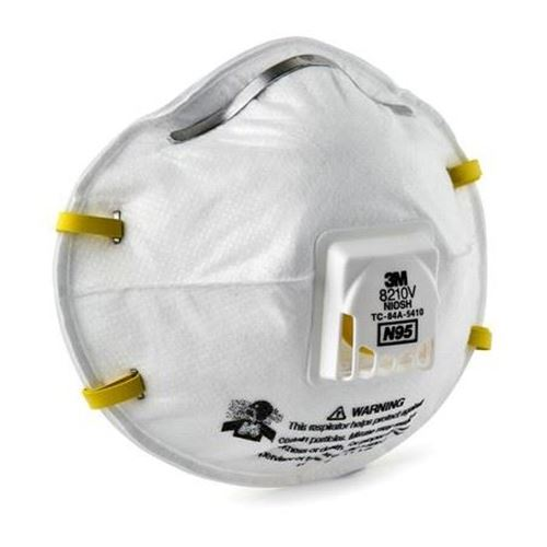 Picture of 3M 8210V Particulate Respirator N95
