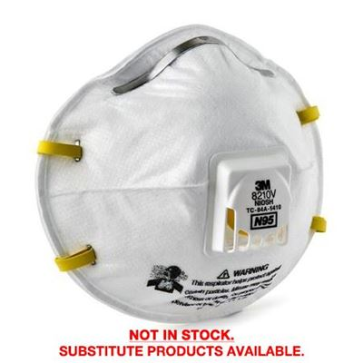 Picture of 3M™ 8210V Particulate Respirator N95