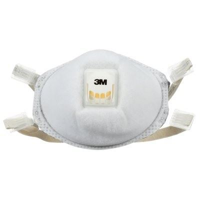 Picture of 3M 8214 Particulate Respirator with Faceseal and Nuisance Level Organic Vapor Relief