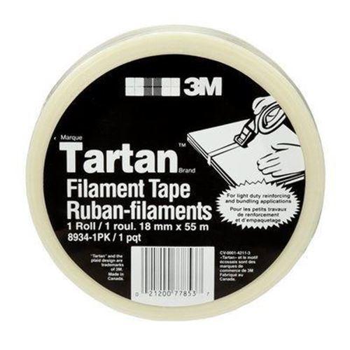 Picture of 3M™ Tartan™ Clear Filament Tape - 18mm x 55M