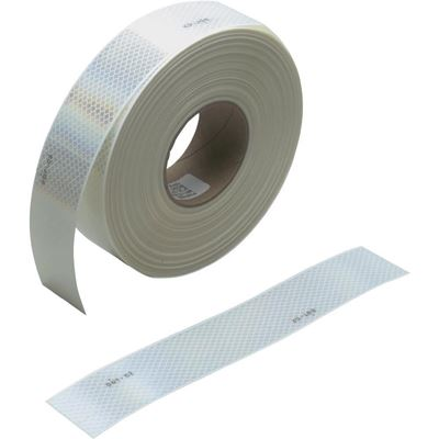 "Picture of 3M Diamond Grade White Conspicuity Marking Tape - 1"" x 150'"