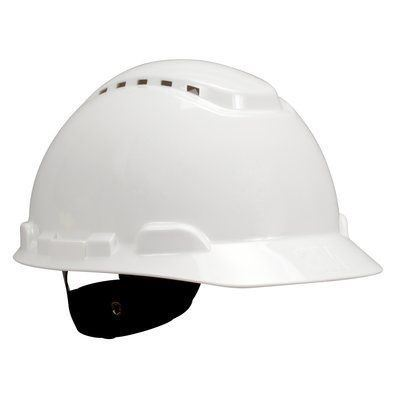 Picture of 3M White 700 Series Type 1 Vented Hard Hat - Ratchet Suspension