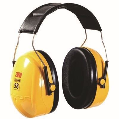 Picture of 3M™ Peltor™ Optime™ 98 Series Over-the-Head Earmuffs