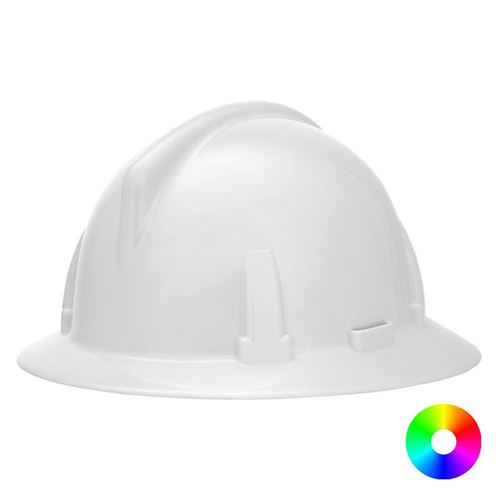 Picture of MSA Topgard® Full Brim Hard Hat, Type 1 - Fas-Trac® Suspension