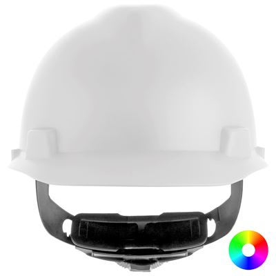 Picture of MSA V-Gard® Matte Protective Hard Hat, Type 1 - Fas-Trac® III Suspension