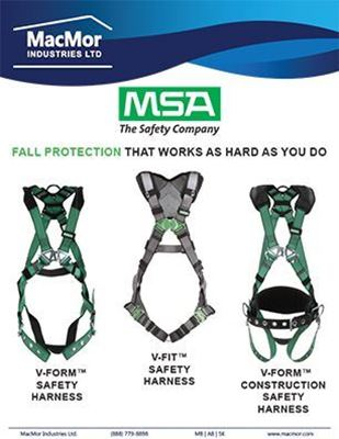 Picture for MSA - V-Series Harnesses Flyer