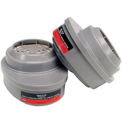 Picture of MSA Advantage® Organic Vapor Cartridge with P100 Filter