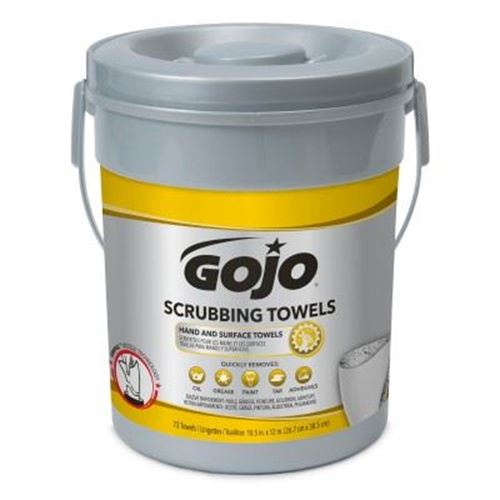Picture of GOJO® Heavy Duty Scrubbing Wipes