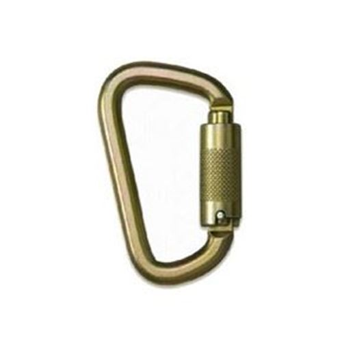 Picture of N-252G Alloy Steel Carabiner with Twist Lock Gate