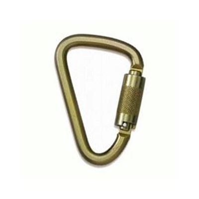 Picture of N-256G Alloy Steel Carabiner with Twist Lock Gate