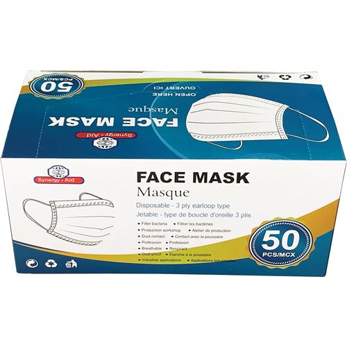 Picture of Three-Ply Disposable Masks