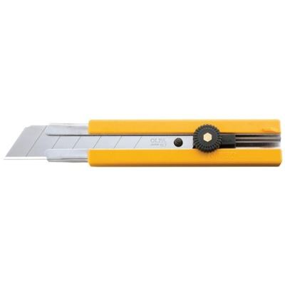Picture of OLFA® H-1 Rubber Inset Grip Ratchet-Lock Utility Knife (H-1)