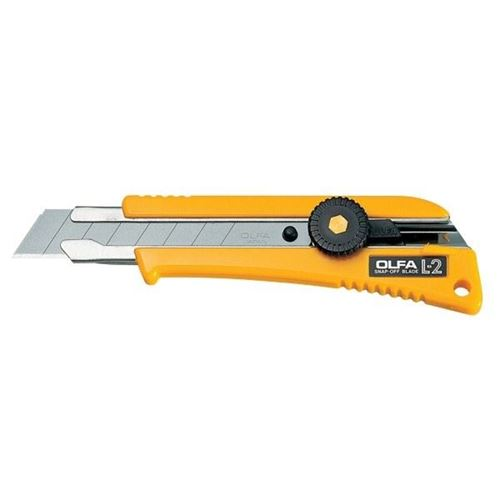 Picture of OLFA® L-2 Ratchet-Lock Utility Knife with Inset Grip