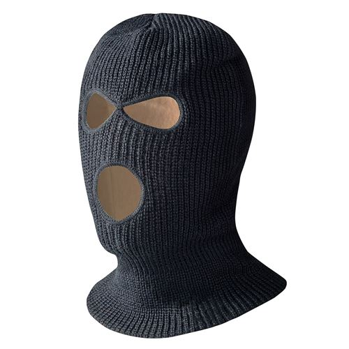 Picture of Pioneer InsulTech™ 3-Hole Black Balaclava