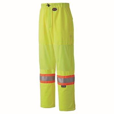 Picture of Pioneer 5999P Hi-Viz Lime Traffic Safety Polyester Pant