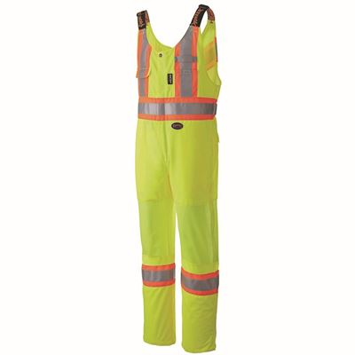 Picture of Pioneer 6000 Hi-Viz Yellow Traffic Safety Polyester Overall