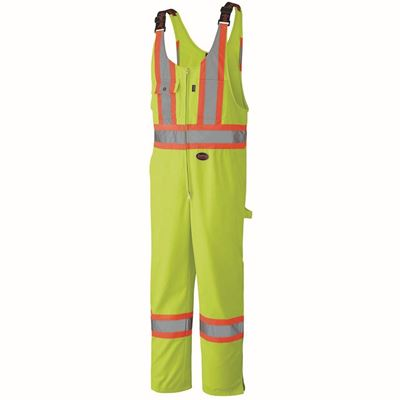 Picture of Pioneer 6619 Hi-Viz Yellow Safety Poly/Cotton Overall