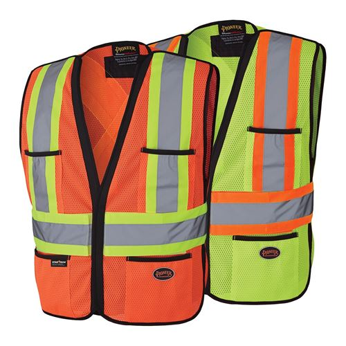 Picture of Pioneer Hi-Viz Polyester Traffic Vest