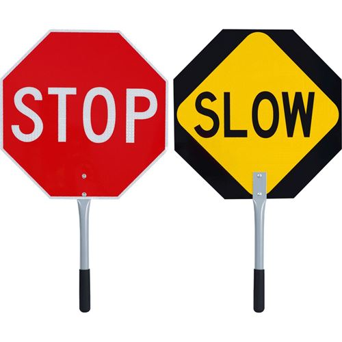Picture of Pioneer® Traffic Stop/Slow Paddle