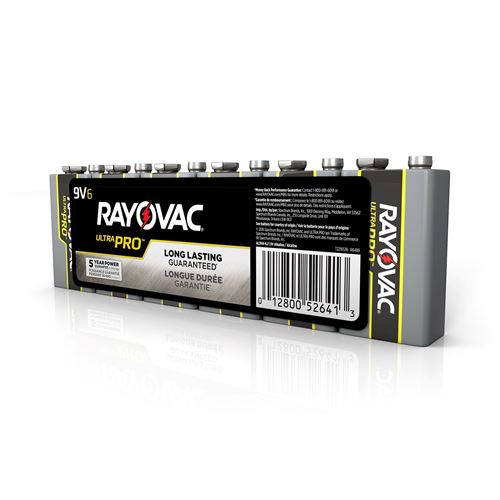 Picture of Rayovac® 9V Industrial Batteries