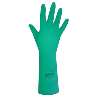 "Picture of Ronco 19-923 Sol-Fit™ 13"" Nitrile Reusable Glove"