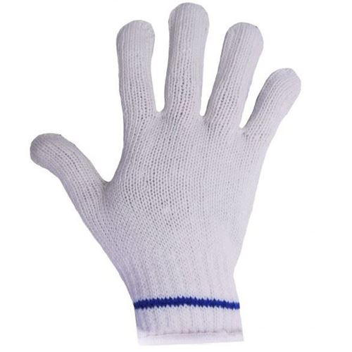 Picture of Ronco 65-014 White Polyester String Knit Gloves
