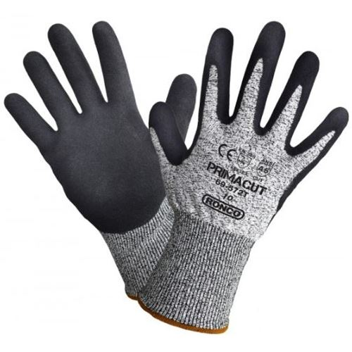 Picture of Ronco 69-572T PrimaCut™ Sandy Nitrile Palm Coated Cut Gloves