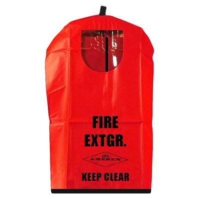 Picture of Vinyl Fire Extinguisher Cover with Window for 10 lbs. Extinguisher