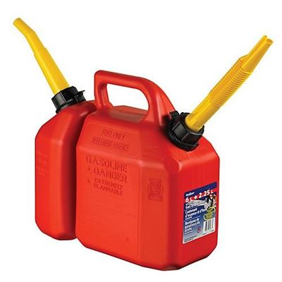 Picture of Scepter 6L Gasoline - 2.25L Oil Combination Fuel Container