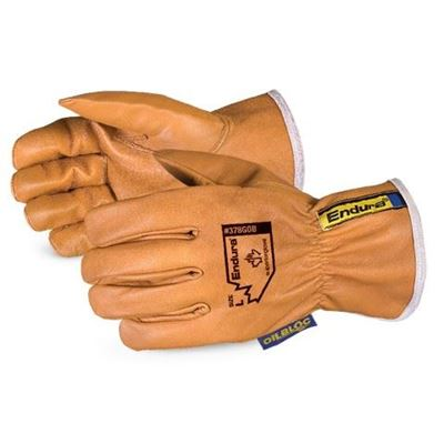 Picture of Superior Glove Endura® Oilbloc™ Goat-Grain Driver Gloves - Medium