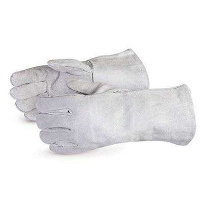 Picture of Superior Glove Iron Wolf Grey Ladies Welders - One Size