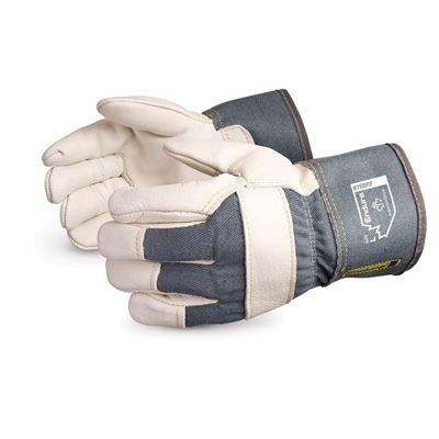 Picture of Superior Glove Endura® Cowgrain Foam-Lined Winter Fitters Gloves - One Size