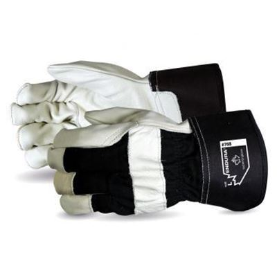 Picture of Superior Glove Endura® Cotton-Palm Lined Grain Fitters Glove - 2X-Large