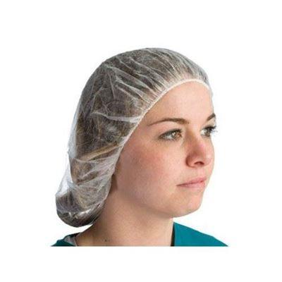 "Picture of White Nylon Mesh Hair Net - Size 24"""