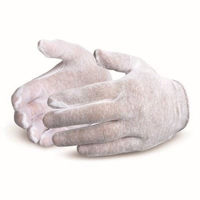 Picture of Superior Glove Lightweight Cotton Slip-On Inspectors Glove