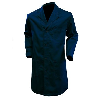 Picture of Stalworth Style 661 Navy Standard Poly/Cotton Shop Coat