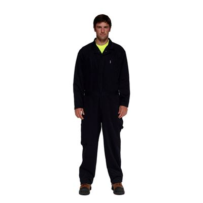 Picture of Stalworth Style 761 Black Standard Poly/Cotton Coverall
