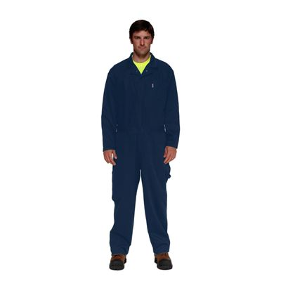 Picture of Stalworth Style 761 Navy Standard Poly/Cotton Coverall