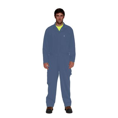 Picture of Stalworth Style 761 Postman Blue Standard Poly/Cotton Coverall