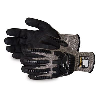 Picture of Superior Glove Dexterity® Anti-Impact Cut-Resistant Glove with Micropore Nitrile Grip