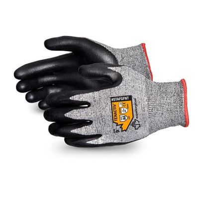 Picture of Superior Glove TenActiv™ Cut-Resistant Composite Knit Glove with Black Foam Nitrile Palm