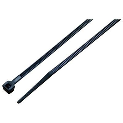 Picture of Techspan 50lbs Black Cable Ties