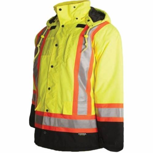 Picture of TERRA® 7-in-1 Hi-Vis Yellow Parka
